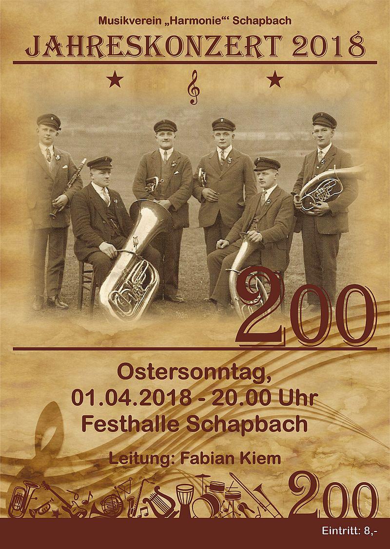 200 Jahre – Jubiläums Jahreskonzert