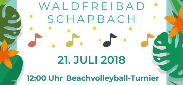 POP & ROCK-Konzert im Waldfreibad