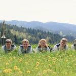 von links: Frank Schmid, Marvin Herrmann, Barbara Hoferer, Julius Nattmann, Thomas Schrempp
