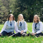 von links: Sabrina Kaluza, Saskia Armbruster, Sina Rosenfelder